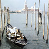View on Venice and the Campanile from the Grand Canal, San Giorgio Island, lagu