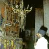 Bichena Church, mural paintings, man