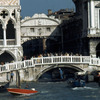 The Palace of Doges and the Bridge of Sighs, Renaissance architecture, boats