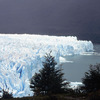 Perito Moreno glacier, National park, mountainous forest, glacial lake