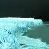 Perito Moreno glacier, National park, mountainous landscape