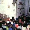 Class in a Koranic school, pupils, Koran, class, class-room