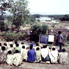 Literacy, open-air class in rural area