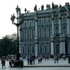 Winter Palace, baroque style, Russian architecture, square