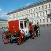 Palace Square, carriage, Russian classical architecture