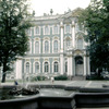 Winter Palace and park, baroque style, Russian architecture, fountain