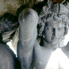 Detail of a statue of the Atlantes, Winter Palace, Greek style statue, Atlantes