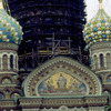 Church of the Redeemer-on-the-blood-shed, Russian old style, church facade and