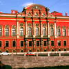 Bieloselsky Palace, Russian classical architecture, facade with colonnade