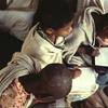 Literacy class, children, writing