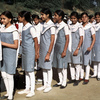 Secondary school, young girls