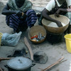 Traditional cooking, African women, cooking pot