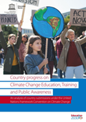 Country progress on climate change education, training and public awareness: an analysis of country submissions under the United Nations Framework Convention on Climate Change