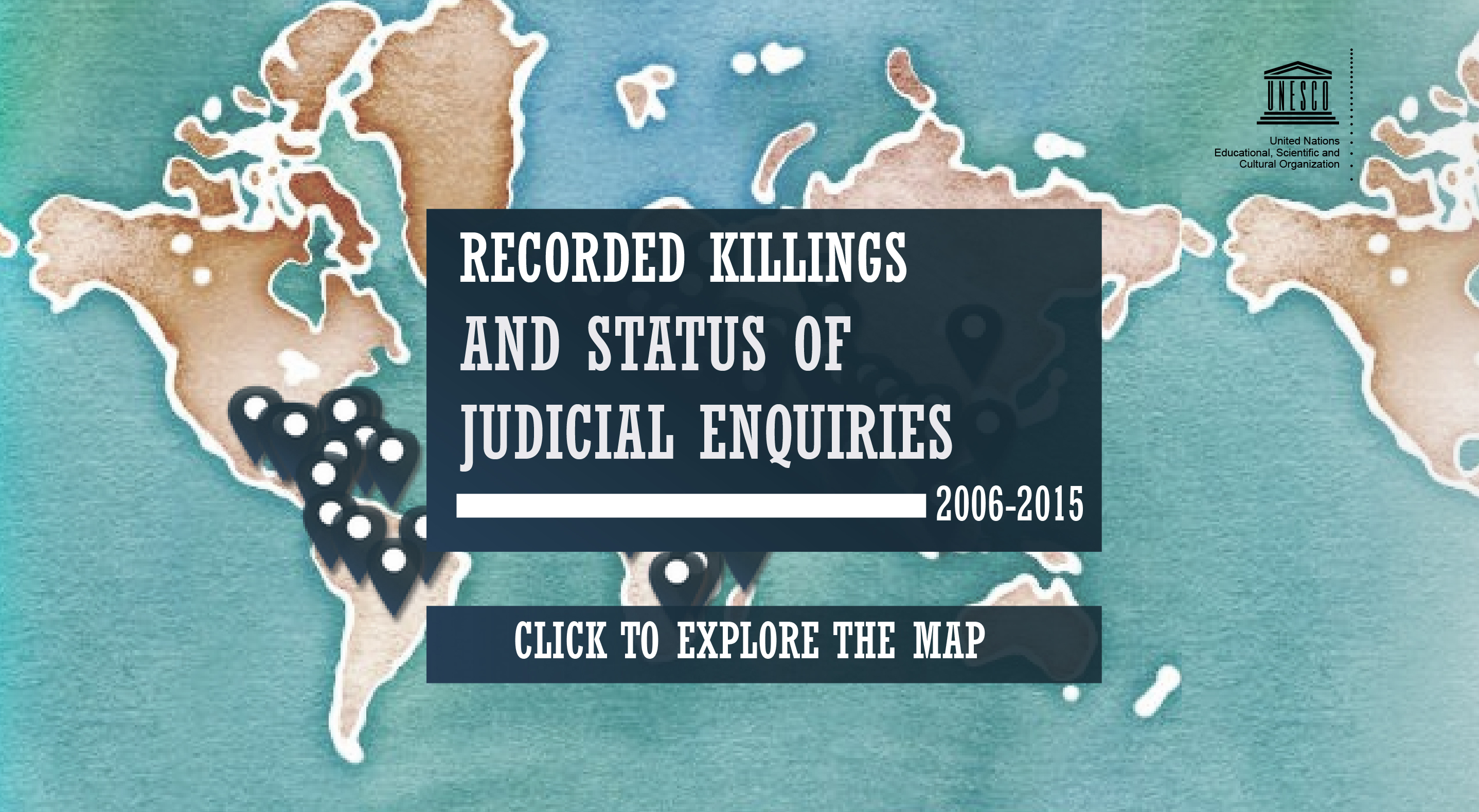 Recorded Killings and Status of Judicial Inquiries 2005 - 2016 UNESCO