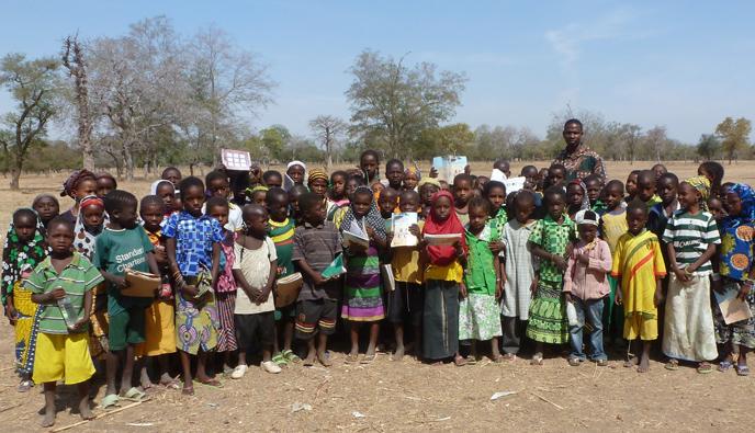 Ecoliers au Burkina Faso