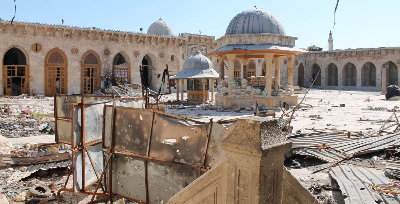 Umayyad mosque, Aleppo