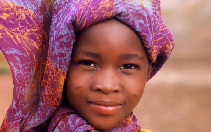 Fille du Burkina Faso