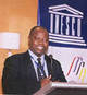 © UNESCO - Geoffrey Nyarota, winner of the 2002 UNESCO Guillermo Cano World Press Freedom Prize.