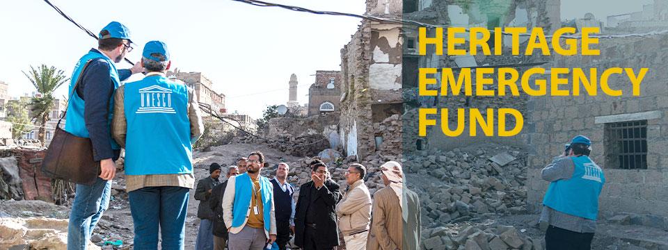 heritage emergency fund, heritage, Yemen, stabilization, first aid, culture, fund, urgent