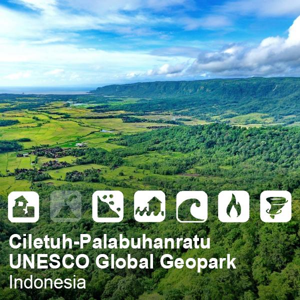 Ciletuh-Palabuhanratu UNESCO Global Geopark, Indonesia