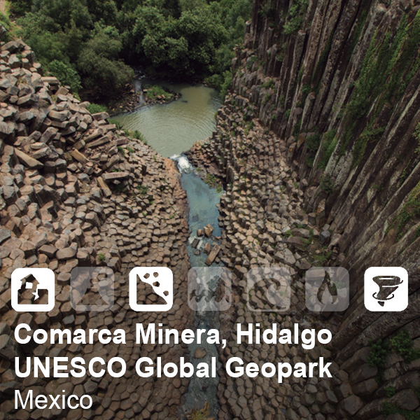 Comarca minera, Hidalgo UNESCO Global Geopark, Mexico
