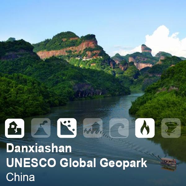 Danxiashan UNESCO Global Geopark, China