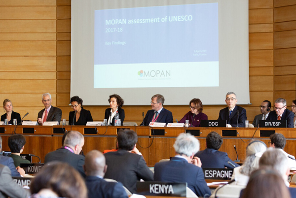 An independent external evaluation highlights UNESCO's key role and clear strategic vision