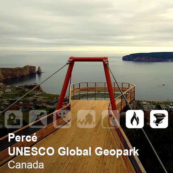 Percé UNESCO Global Geopark, Canada