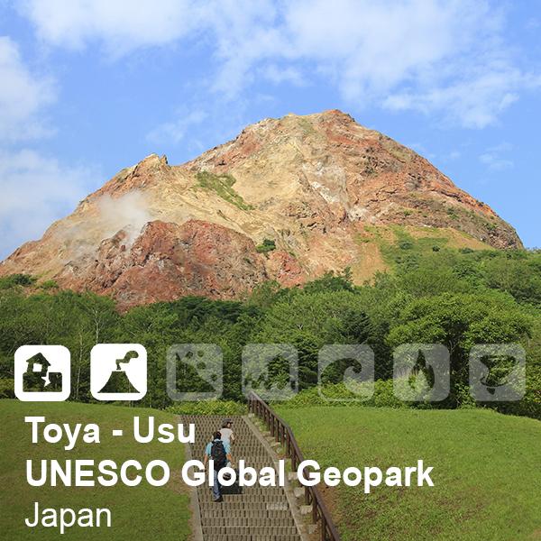 Toya-Usu UNESCO Global Geopark, Japan