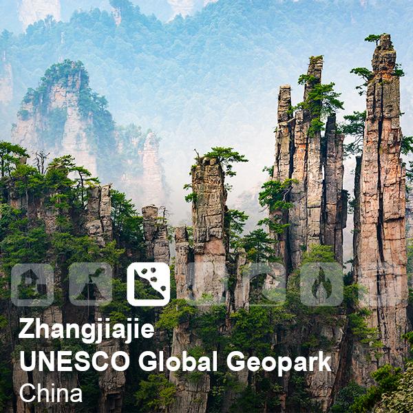 Zhangjiajie UNESCO Global Geopark, China