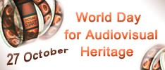 World Day for Audiovisual Heritage 2015