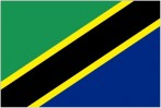 United Republic of Tanzania Flag