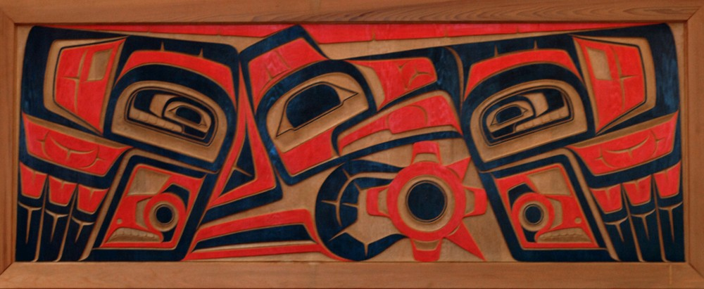 Hellenic Relic Art Painted On Wood