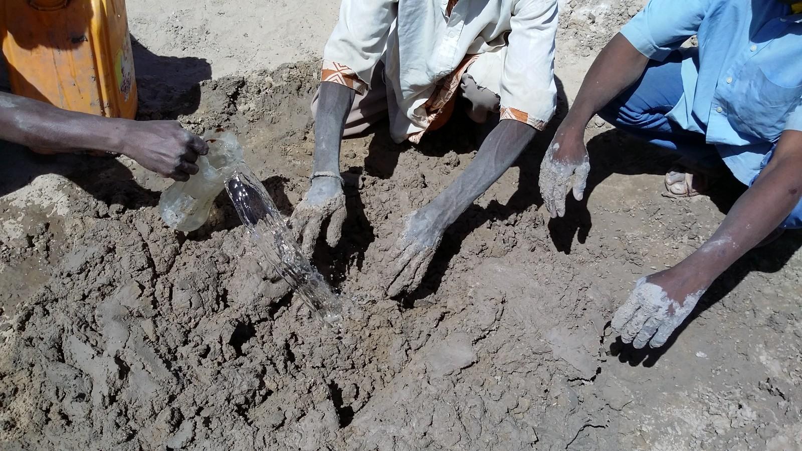 Mortar preparation, Timbuktu