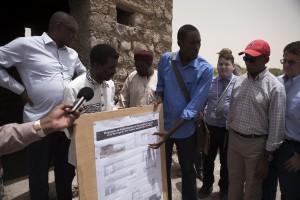 Reconstruction strategy mausoleums, Timbuktu