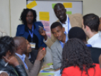 Group discussion of participants during the Water-Energy-Food Nexus training © UNESCO