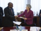 Signature of the agreement establishing the East Africa Institute for Fundamental Research as a UNESCO Category 2 Centre © UNESCO/Christelle ALIX