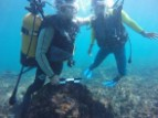 UNESCO training of underwater archaeologists in Madagascar to counter the pillaging of historic wrecks © UNESCO