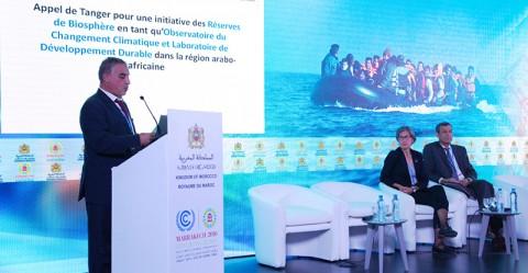 Lancement de l'appel de Tanger pendant la COP22.