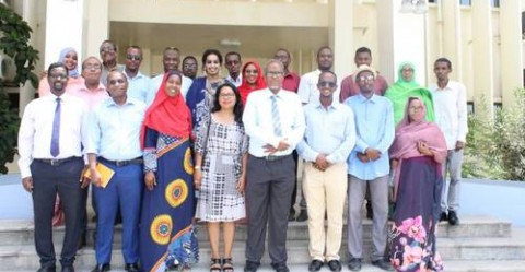 Participants in the validation workshop © Ministry of Muslim Affairs, Culture and Waqfs Assets