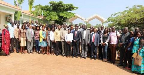 Participants at the Access to Information Seminar at Juba Regency Hotel. 25 O6 19 © Yokwe