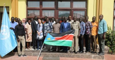 Participants in the July 2019 World Heritage Workshop in Juba © UNESCO