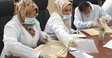 UNESCO and the EU safeguard ancient manuscripts in Libya: Protecting cultural heritage in times of conflict