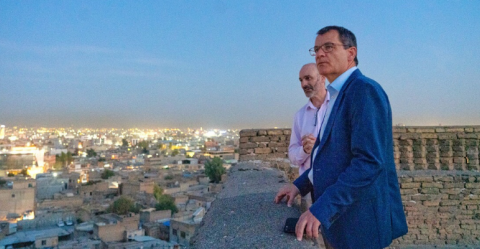 New appointed Ambassador of the EU upholds support for UNESCO flagship initiative in Iraq