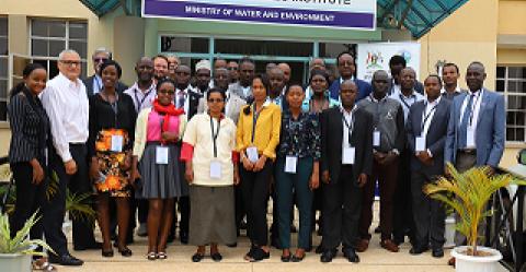 Group photo of participants at the CRIDA training in Entebbe, Uganda@UNESCO