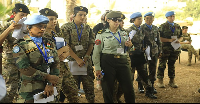Female military trained by UNESCO in protecting cultural property