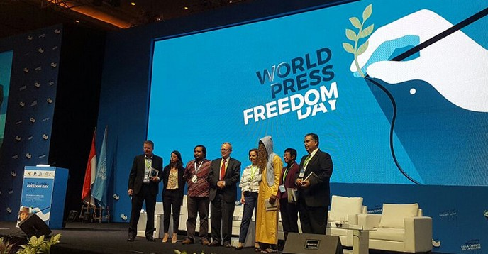 Fact-based journalism celebrated at World Press Freedom Day