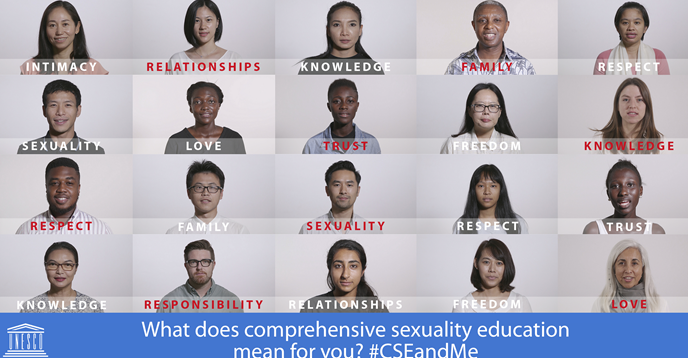 Unesco international guidelines on sexuality education