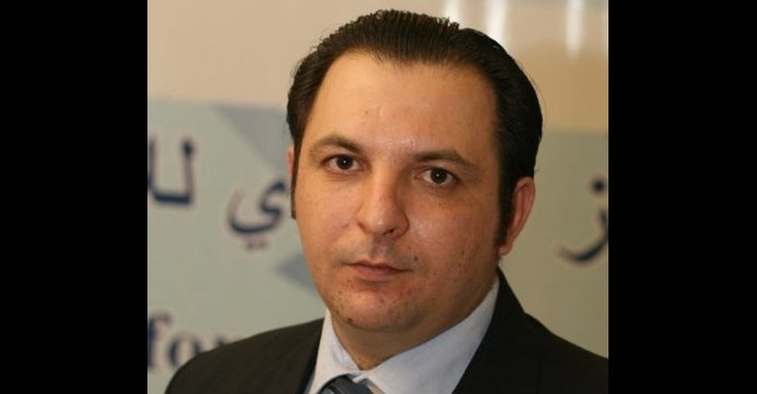 © UNESCO. Syrian journalist Mazen Darwish, winner of the 2015 UNESCO Guillermo Cano World Press Freedom Prize.