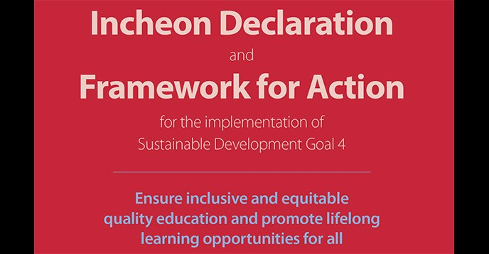 SDG-Education 2030 Framework for Action